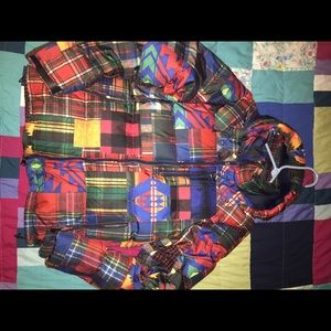 Polo Ralph Lauren patchwork jacket